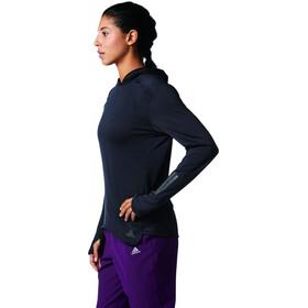 adidas Response Climawarm Hardloopshirt lange mouwen Dames zwart